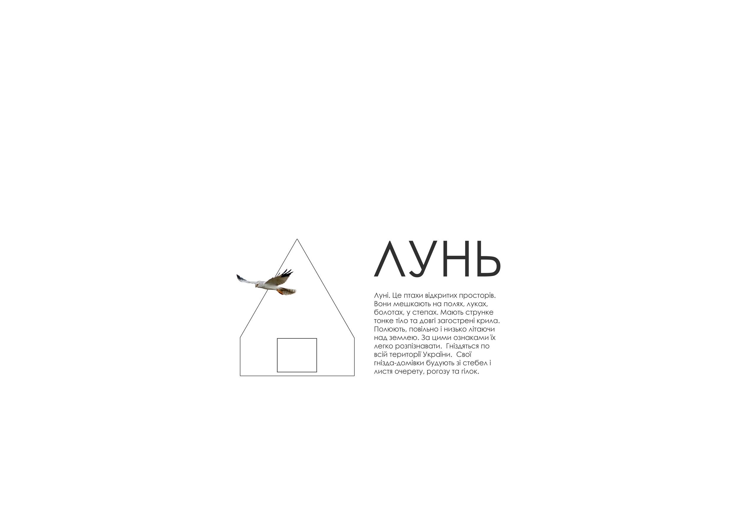 """HOUSE """"LUN'"""" BIRD NEST"""
