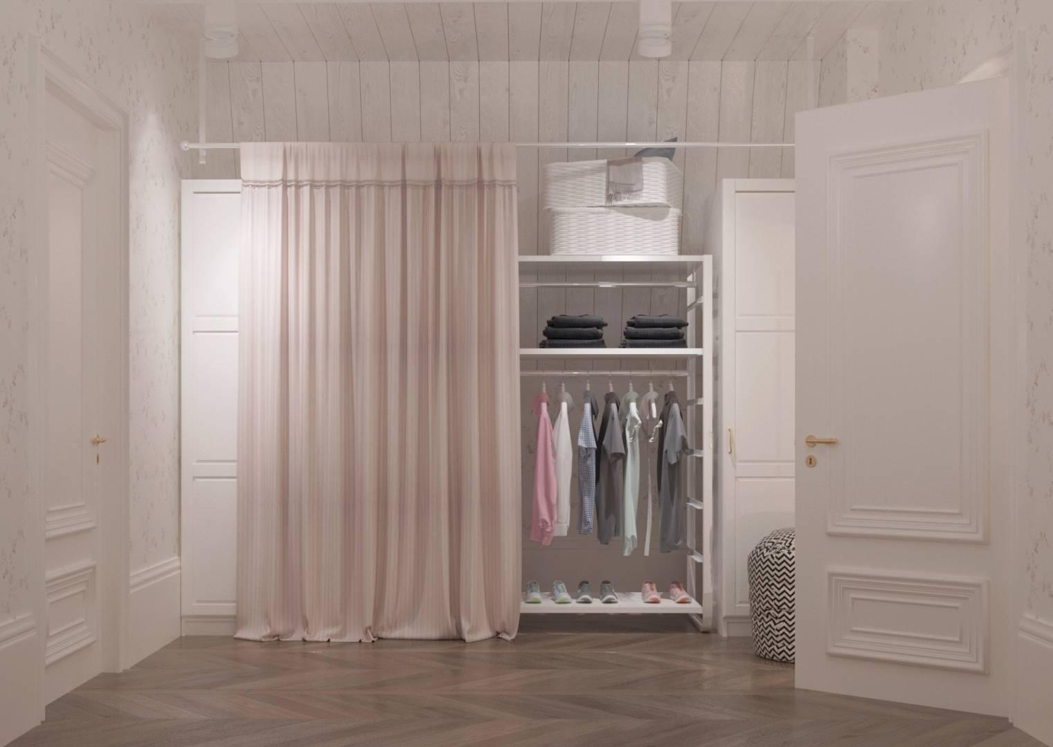 Дизайн гардеробної