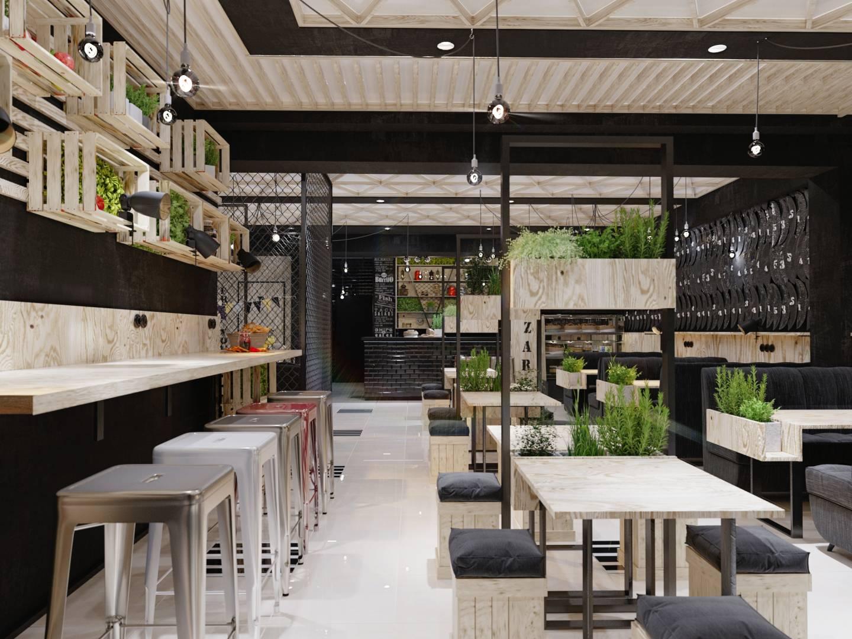 Дизайн кафе, ресторану